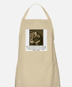 Bishop of Seville BBQ Apron