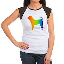 Chinese Shar Pei Women's Cap Sleeve T-Shirt