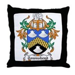 Townshend Coat of Arms Throw Pillow