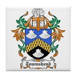 Townshend Coat of Arms Tile Coaster
