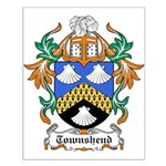 Townshend Coat of Arms Small Poster