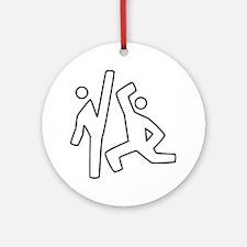 Karate Ornament (Round)