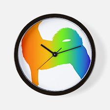 Norwegian Buhund Wall Clock