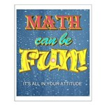 Math Can Be Fun Poster