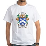 Tooker Coat of Arms White T-Shirt