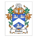Tooker Coat of Arms Small Poster