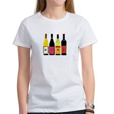 WINE Bottles Tee