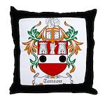 Tonson Coat of Arms Throw Pillow