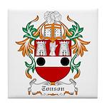 Tonson Coat of Arms Tile Coaster