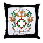 Toler Coat of Arms Throw Pillow