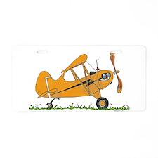 Cub Airplane Aluminum License Plate