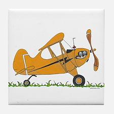 Cub Airplane Tile Coaster