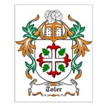Toler Coat of Arms Small Poster