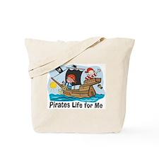 Pirates Life For Me Tote Bag