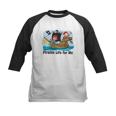 Pirates Life For Me Kids Baseball Jersey