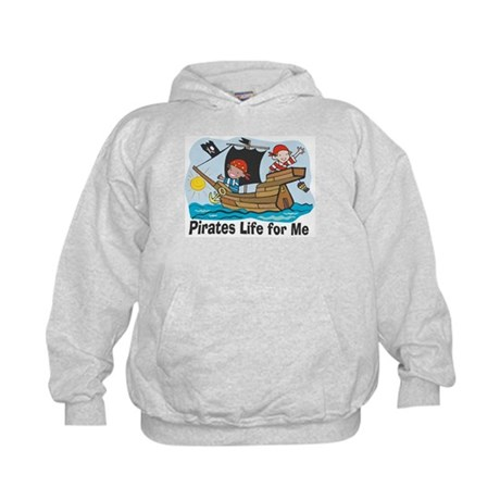 Pirates Life For Me Kids Hoodie