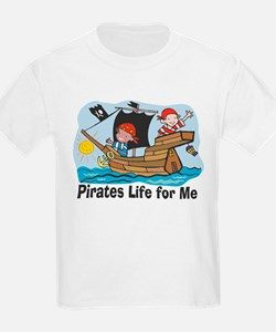 Pirates Life For Me Kids T-Shirt