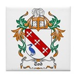 Tod Coat of Arms Tile Coaster