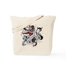MacTavish Tartan Lion Tote Bag