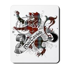 MacTavish Tartan Lion Mousepad