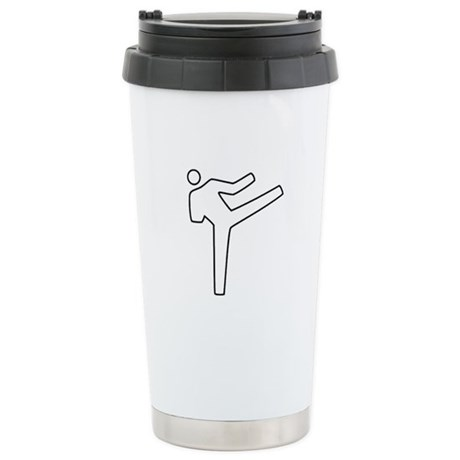 Karate Stainless Steel Travel Mug