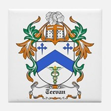 Teevan Coat of Arms Tile Coaster