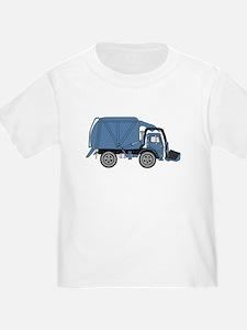 GarbageTruckBlue T-Shirt