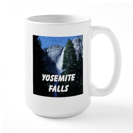AFTM Yosemite Falls Large Mug