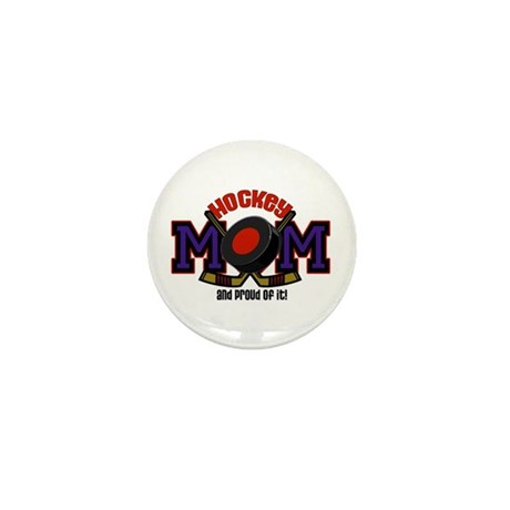 Hockey Mom Mini Button (10 pack)