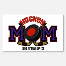 Hockey Mom Rectangle Bumper Stickers