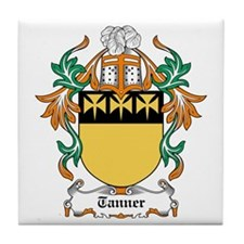 Tanner Coat of Arms Tile Coaster