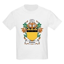 Tanner Coat of Arms Kids T-Shirt