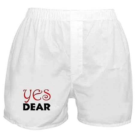 """YES DEAR"" Boxer Shorts"