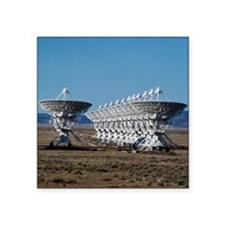 """Very Large Array 7511 Square Sticker 3"""" x 3"""""""