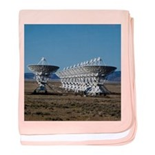 Very Large Array 7511 baby blanket