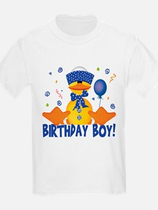 Birthday Boy Duckie Kids T-Shirt