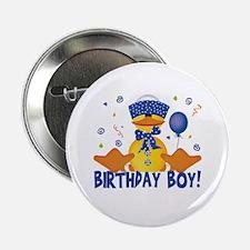 Birthday Boy Duckie Button