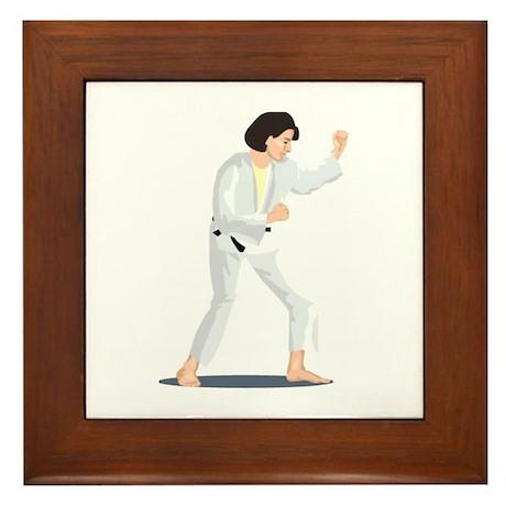Karate Framed Tile