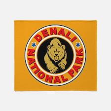 Denali Gold Circle Throw Blanket