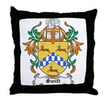 Swift Coat of Arms Throw Pillow