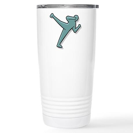 Karate Stainless Steel Travel Mug