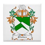 Stokes Coat of Arms Tile Coaster
