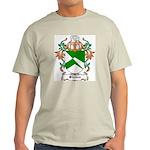 Stokes Coat of Arms Ash Grey T-Shirt