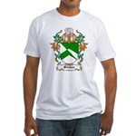 Stokes Coat of Arms Fitted T-Shirt