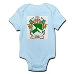 Stokes Coat of Arms Infant Creeper