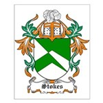 Stokes Coat of Arms Small Poster