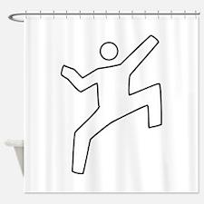 Climbing Shower Curtain