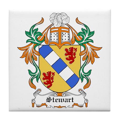 Stewart Coat of Arms Tile Coaster