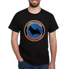 Norwich Terrier Black T-Shirt