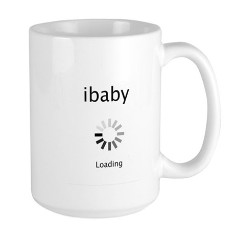 ibaby loading Large Mug
